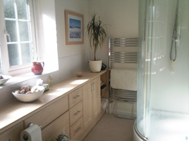 Bathroom Cabinet fitting - Priory Building Services of Colchester, Essex