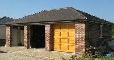 Garage Construction by Priory Building Services